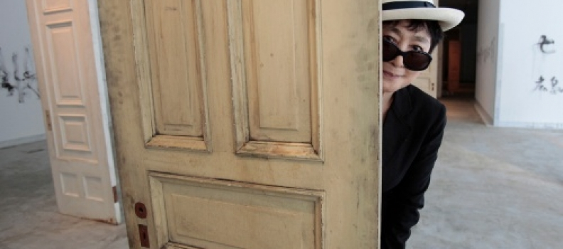 "Yoko Ono's ""Uncursed"" Opens in New York"