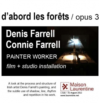 d'abord les forets/ opus 3, international exhibition at La Maison Laurentine